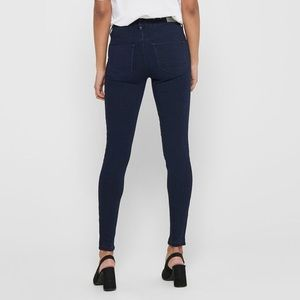 ONLY | dark blue skinny jeans with pockets